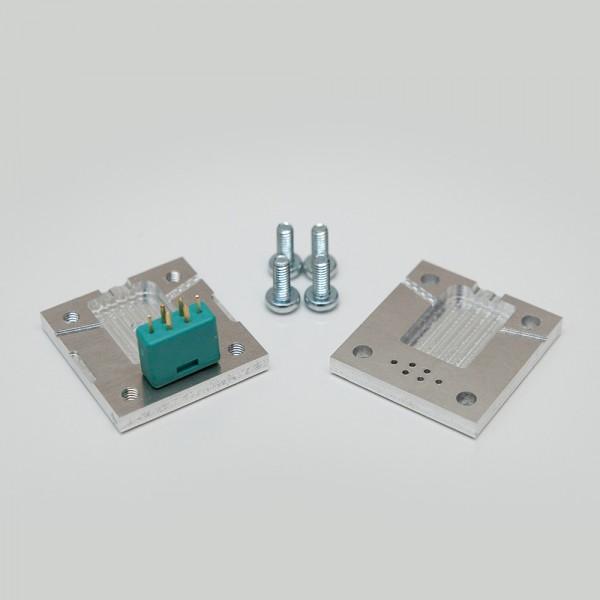 MPX Steckerform zur Isolierung mit Heißkleber